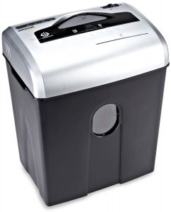 AmazonBasics 10- to 12-Sheet Cross-Cut Shredder with CD Shred