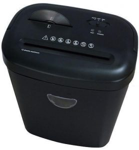 ProAction 8 Sheet 13 Litre Cross Cut Shredder